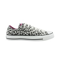 Converse All Star Lo Leopard Athletic Shoe, WhiteBlack  Journeys Shoes