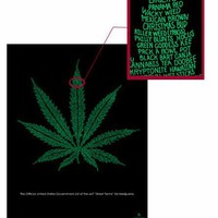 """The Marijuana Leaf"" poster - Fun Stuff"
