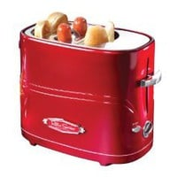Nostalgia Electrics HDT-600RETRORED Retro Series Pop-Up Hot Dog Toaster: Amazon.com: Kitchen & Dining