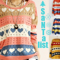 Sweet Hearts Cabin Sweater