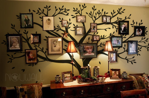 tree wall decals wall stickers family from nouwall on etsy tapeta strom spomienok 19 50 detsk 253 baz 225 r
