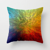 My Spectrum Throw Pillow by Vargamari | Society6