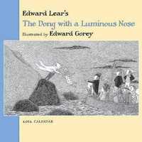 Edward Gorey Luminous Nose 2012 Mini Wall Calendar | eBay