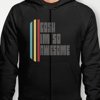 Gosh Im Awesome  Hoody by Rachel Burbee | Society6