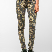 SOLD Design Lab Ikat Print Skinny Jean
