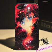Galaxy Print iPhone 4 Case 4s, Star iPhone 4 4s Case, Cool iPhone 4 case for boys, Magic iPhone Case 4 4s, Galaxy style awesome iphone Case