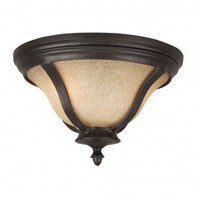 Craftmade Exterior Lighting Frances II Two Light Outdoor Flush Mount - Energy Star - Z6117-92-NRG - Exterior Lighting - Lighting