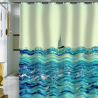 DENY Designs Home Accessories | Lisa Argyropoulos Sailin Shower Curtain