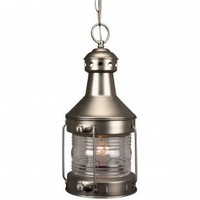 Craftmade Exterior Lighting Large Nautical Brass Outdoor Hanging Pendant Lantern - Z111-7 - Exterior Lighting - Lighting