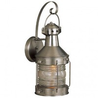 Craftmade Exterior Lighting Large Nautical Brass Outdoor Wall Mount Lantern - Z114-7 - Exterior Lighting - Lighting