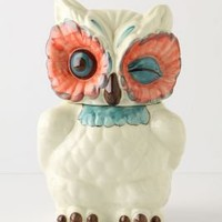 A Real Hoot Canister - Anthropologie.com