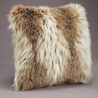 Russian Lynx Faux Fur Pillows | Fabulous-Furs