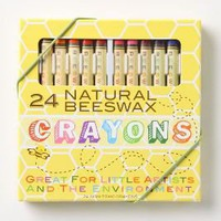 Natural Beeswax Crayons - Anthropologie.com