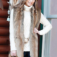 Coyote Every-Wear Vest | Fabulous-Furs