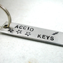 Harry Potter Keychain or Zipper Pull Accio Keys made by foxwise