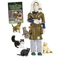 Accoutrements Crazy Cat Lady Figurine