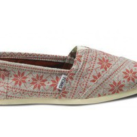 Red Snowflake Women&#x27;s Classics