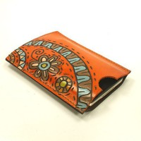 Leather case for Iphone Itouch ipod The Amusement land by rntn