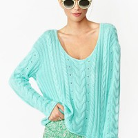 Hard Candy Knit - Mint