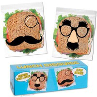 Lunch Disguise Sandwich Bags - Archie McPhee & Co.