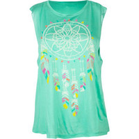 WORKSHOP Dreamcatcher Womens Sleeveless Tee 211139523 | Graphic Tees &amp; Tanks | Tillys.com