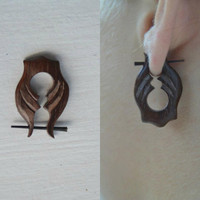 Wooden Balinese Earrings