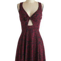 Merlot, It's Me Dress | Mod Retro Vintage Dresses | ModCloth.com