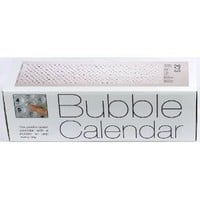 2014 Bubble Calendar- A Poster Sized Wall Calendar with a Bubble to Pop Everyday