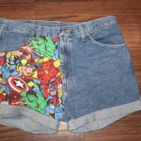 Marvel Highwaisted Shorts