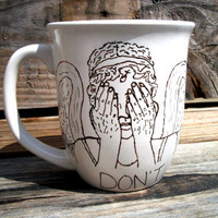 Dr Who Don't Blink The Angels Have The Tardis Coffee by betwixxt