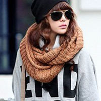 Hot Sale Korean Fashion Junior Scarves Camel : Wholesaleclothing4u.com