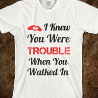 I Knew You Were Trouble - summer tanks