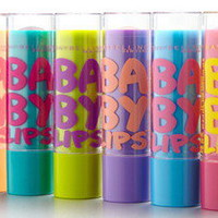 Lot of 6 Maybelline Baby Lips Moisturizing Lip Balm SPF 20 Sunscreen