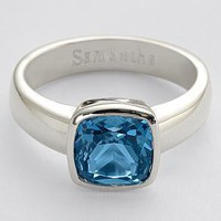 solitaire birthstone ring from RedEnvelope.com