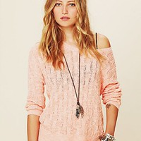 Free People Free People Beach Cable Pullover