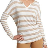 Women's Drop-Shoulder Jersey Tops | Old Navy