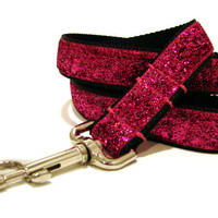 "Pink Dog Leash 1"" Medium to Large Breed Pink Dog Leash"