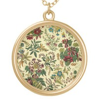 Old Fashioned Floral Abundance Pendants from Zazzle.com