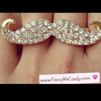 Mustache Bling from Fancy Me Candy
