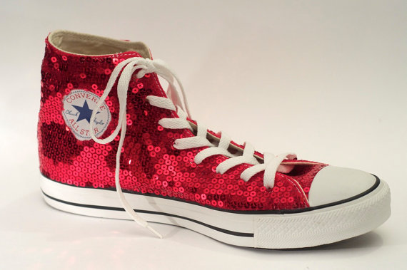 Free shipping BOTH ways on converse high tops with sparkle, from our vast selection of styles. Fast delivery, and 24/7/ real-person service with a smile. Click or call