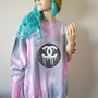Chanel Dripping CC Pink Tie Dye Jumper