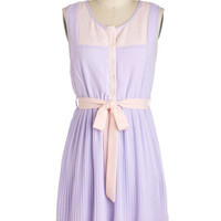 Urban Garden Party Dress in Lavender | Mod Retro Vintage Dresses | ModCloth.com