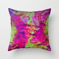 Departure Throw Pillow by Joel Olives | Society6