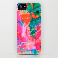 Paradise iPhone Case by Amy Sia | Society6