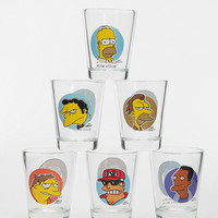 The Simpsons Shot Glass - Set Of 6