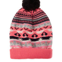 Aztec Fairisle Hat - New In This Week  - New In