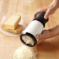 Microplane Cheese Mill with Twist Top
