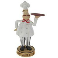 Chef with Platter in Hand Figurine - Hobby Lobby