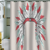 DENY Designs Home Accessories | Wesley Bird Dressy Shower Curtain