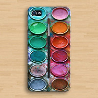 Water color paint set iPhone 4 Case, iPhone 4s Case, iPhone Case, iPhone hard Case